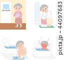 シニア 女性 冬場の入浴のぼせ ヒートショックセット 44097683
