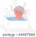 シニア 女性 冬場の入浴のぼせ ヒートショック 44097684