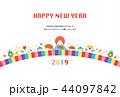 亥年-年賀状テンプレート 44097842