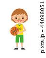 バスケットボール 女性 44098051
