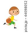 ベクター 女性 スポーツのイラスト 44098052