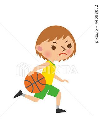 バスケットボール 女性 44098052