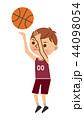 バスケットボール 男性 44098054