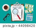 会計 バランス 平衡のイラスト 44098420