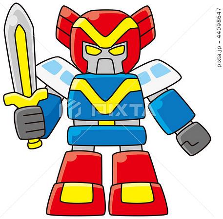 戦隊ヒーロー風ロボット 44098647