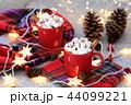 ホットチョコレート マシュマロ 44099221