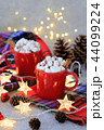 ホットチョコレート マシュマロ 44099224