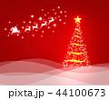 クリスマス 背景 コピースペースのイラスト 44100673