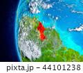 地球 ガイアナ インターナショナルのイラスト 44101238