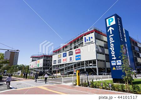 名古屋市港区都市風景 ららぽーと名古屋みなとアクルス前 44101517