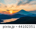 富士山 芦ノ湖 湖の写真 44102351