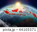 地球 大地 インドネシアのイラスト 44103371
