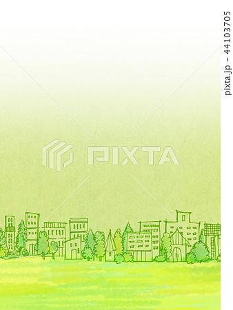 街並 手描きイラスト 44103705