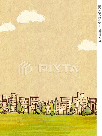 街並 手描きイラスト 44103709