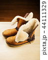 Yellow Winter Autumn Woman Boots wooden table stud 44111329