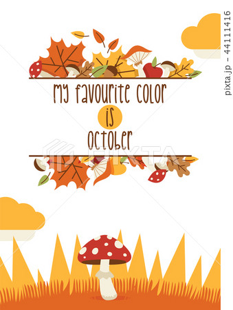 vector autumn time thanksgiving decoration elements happy lettering