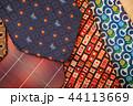 カラフル 色とりどり ネクタイの写真 44113669
