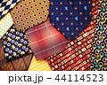 カラフル 色とりどり ネクタイの写真 44114523