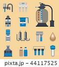 ウォーター 水 水分のイラスト 44117525
