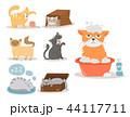 ねこ ネコ 猫のイラスト 44117711