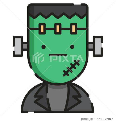 Frankenstein LineColor illustration 44117907