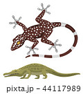 Reptile and amphibian colorful fauna vector illustration reptiloid predator reptiles animals. 44117989