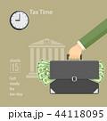 税金 税 課税のイラスト 44118095