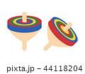 こま 独楽 おもちゃのイラスト 44118204