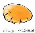 筆描き パン クリームパン 44124916