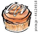 筆描き パン シナモンロール 44124918