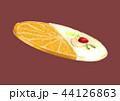 お菓子 ホワイトチョコ オレンジのイラスト 44126863