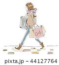 女性 買い物 ショッピングのイラスト 44127764