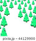 クリスマス 飾り クリスマスツリーの写真 44129900