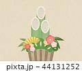 和紙 正月 縁起物のイラスト 44131252