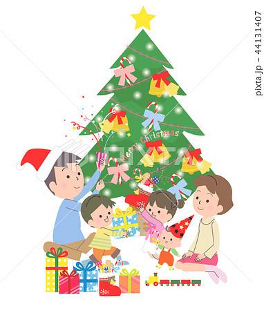 クリスマスの家族 44131407