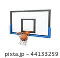 バスケ バスケットボール ボールのイラスト 44133259