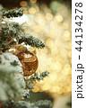 クリスマス クリスマスツリー サンタクロースの写真 44134278