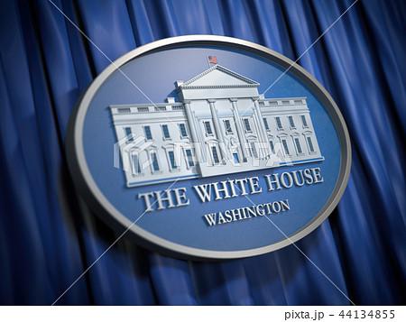 The White House Washington sign  44134855