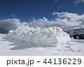 山岳 山脈 ゆきの写真 44136229