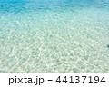 海 海水 透明の写真 44137194