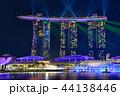 シンガポール マリーナベイ・サンズ 夜景の写真 44138446