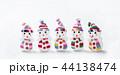 クリスマスイメージ 横長サイズ 雪だるま イメージ素材 44138474