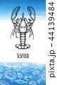 デザイン 柄 テンプレートのイラスト 44139484