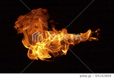 Flame heat fire abstract background 44142809