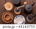 コーヒー器具(コーヒーカップ、コーヒーミル、ケトル、ドリッパー、サーバー) 44143755