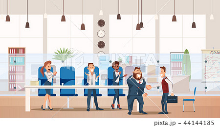 Job Interview and Recruiting. Vector Illustration. 44144185