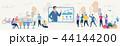 通信 概念 ネットワークのイラスト 44144200