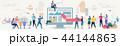 通信 概念 ネットワークのイラスト 44144863