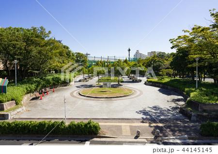 名古屋市港区都市風景 港北公園 44145145