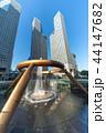 シンガポール 富の噴水 噴水の写真 44147682